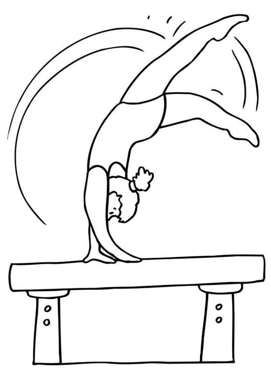 página para colorir ginástica img 26100