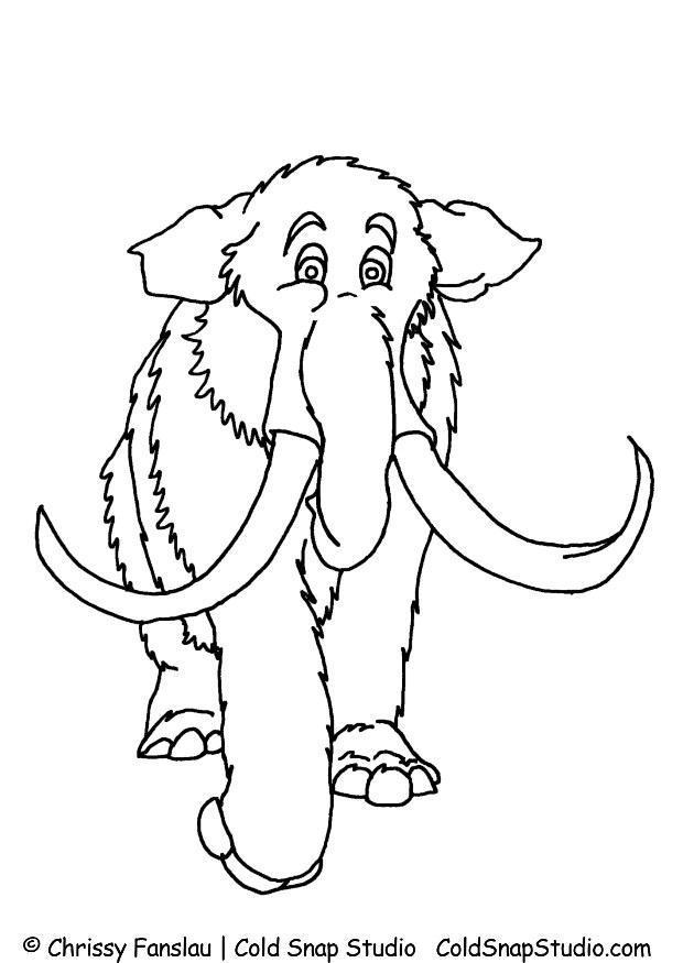 P gina para colorir mamute img 7368 - Immagini da colorare la spiaggia ...