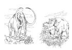 mamute - herbívoros