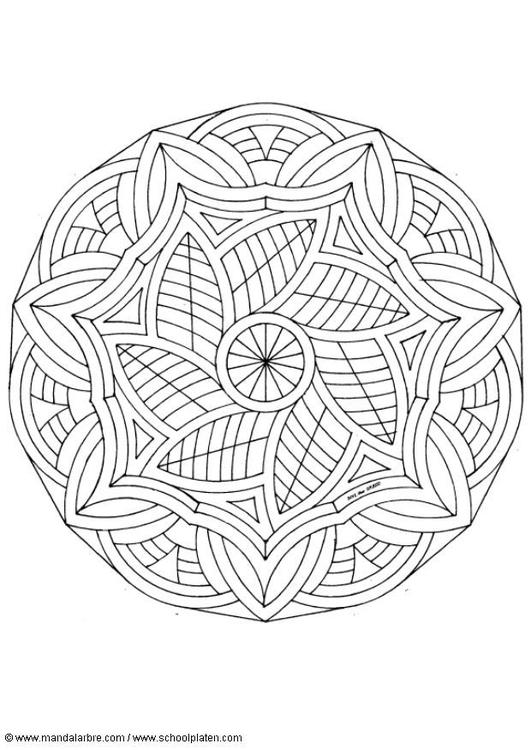 P 225 Gina Para Colorir Mandala 1602m Img 4512