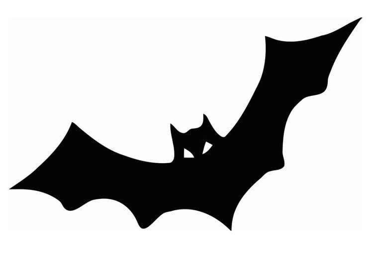 página para colorir morcego img 20680