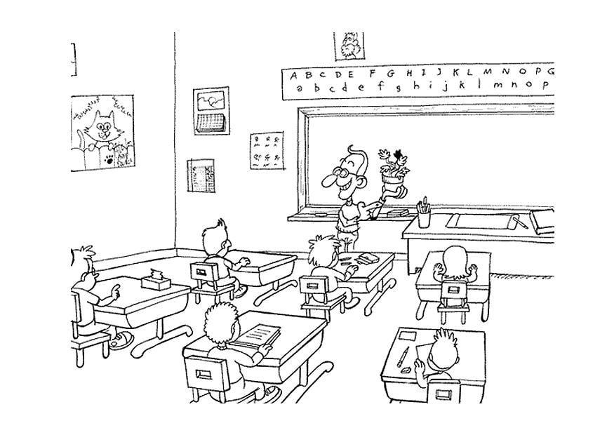 P gina para colorir na sala de aula img 9498 - Pagina da colorare di una bibbia ...