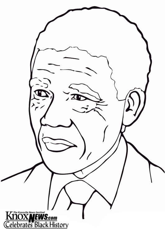 P gina para colorir nelson mandela img 12870 for Mae jemison coloring page