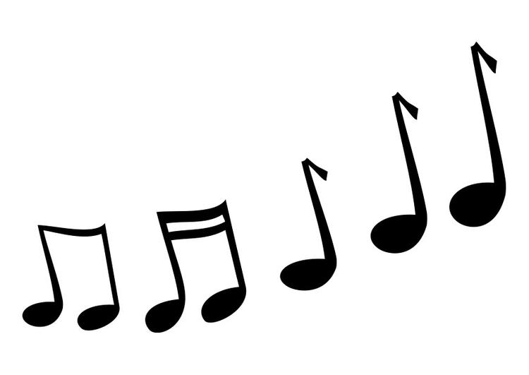 Famosos Página para colorir notas musicais - img 25733. TQ76