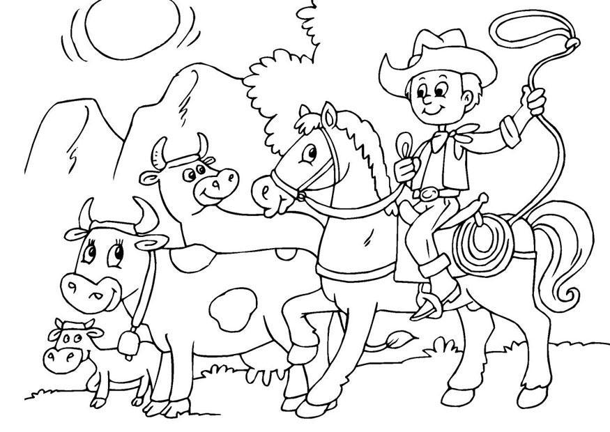 p gina para colorir pastorear o gado   img 25969