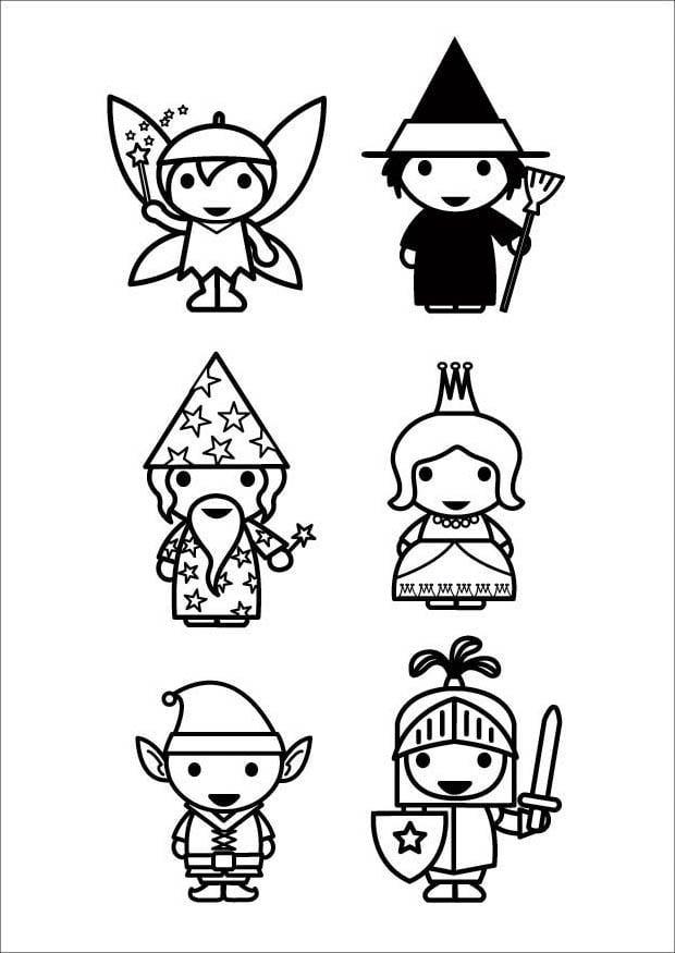 P 225 Gina Para Colorir Personagens De Contos De Fadas Img