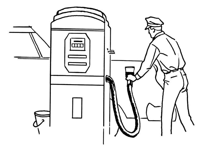 P gina para colorir posto de gasolina img 18848 for Disegni di addizione garage