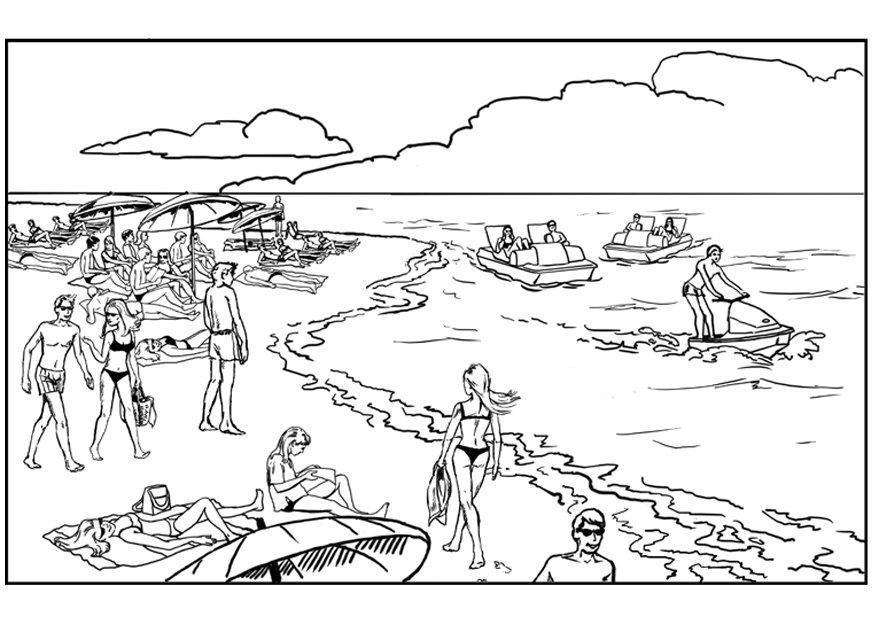 P gina para colorir praia e mar img 7891 - Pagina da colorare di una bibbia ...
