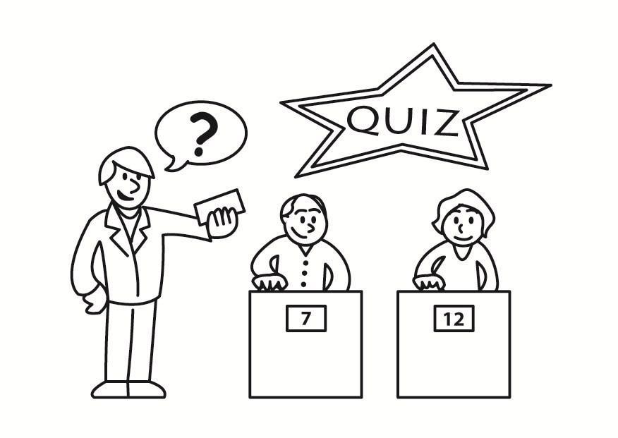 Página para colorir quiz - img 23347.