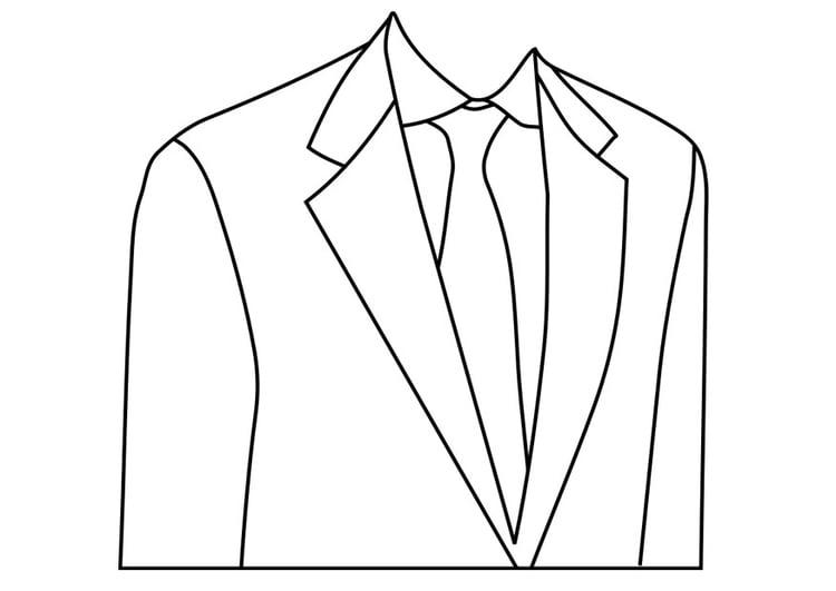 página para colorir terno feito sob medida img 19238