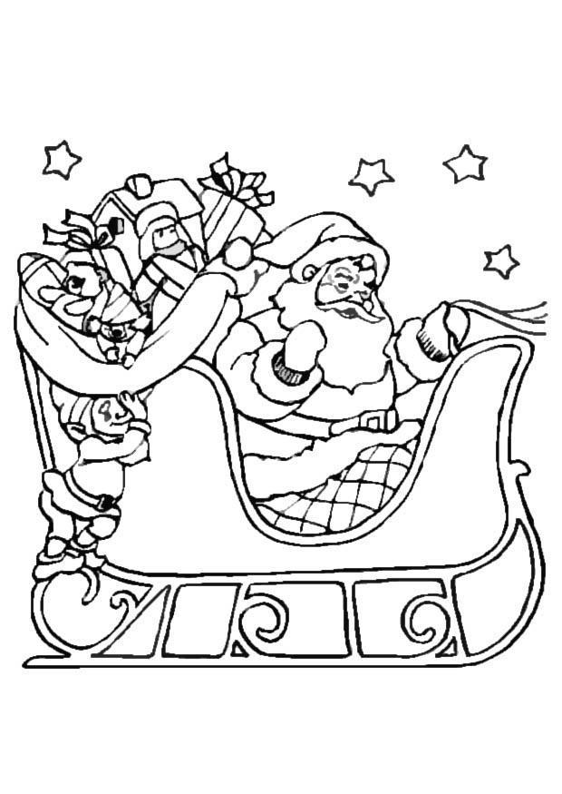 P 225 Gina Para Colorir Treino Do Papai Noel Img 16463